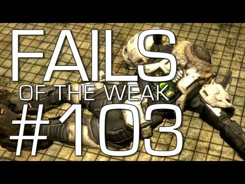 Fails of the Weak: Ep. 103 - Funny Halo 4 Bloopers and Screw Ups! | Rooster Teeth