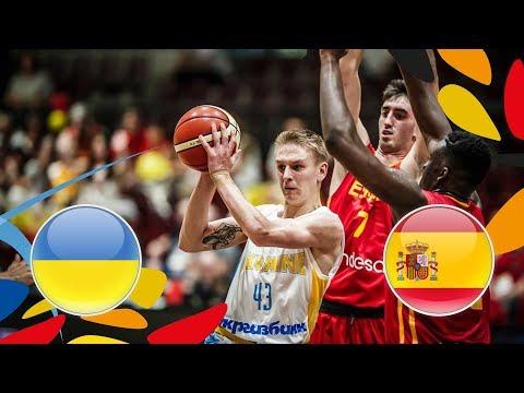 Ukraine v Spain - Full Game - FIBA U20 European Championship 2018