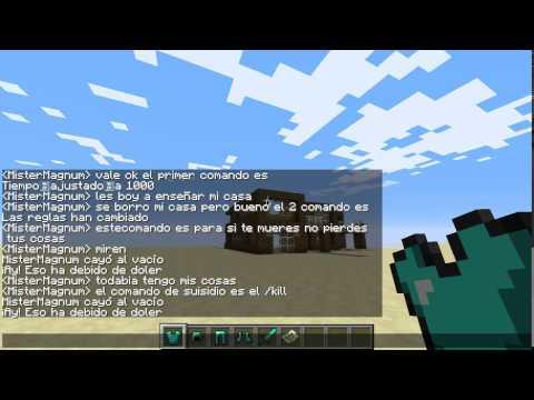 minecraft 1.7.9 (comandos de escritura)