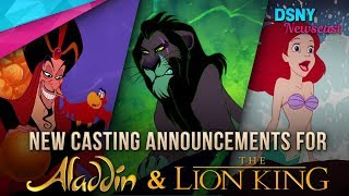 New Disney Casting for The Lion King, Aladdin, and Christopher Robin - Disney News - 8/7/17