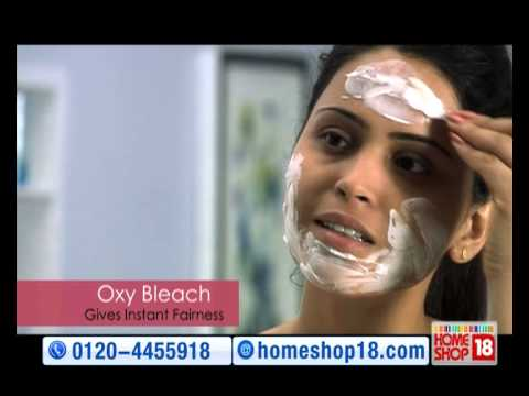 HomeShop18 : Body Care Diamond Facial + Oxy Bleach + Hand & Foot Spa Kit