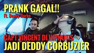PRANK GAGAL!! MALAH DI HIPNOTIS JADI DEDDY CORBUZIER ft. Denny Darko
