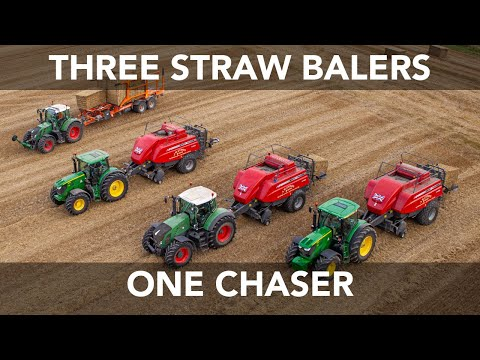 This video shows you our baling operation. We are baling wheat with three balers, all operated by J.W. Evison & Sons baling contractors. The balers are being...