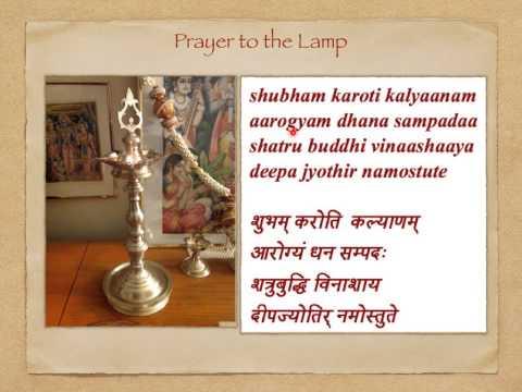 Shubham Karoti Kalyanam: Prayer To The Lamp - Traditional Tune video