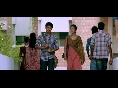 A very cute scene from Kadhalil Sodhapuvadu Yeppadi - Siddharth...