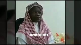 Future imam of Masjidil Haram.