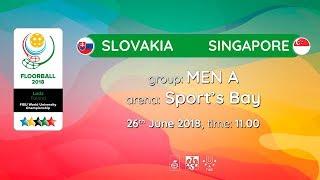 Словакия : Сингапур
