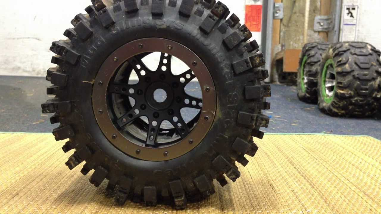 Best Off Road Tires >> RC4WD Mudslinger 40 Series tire review - YouTube