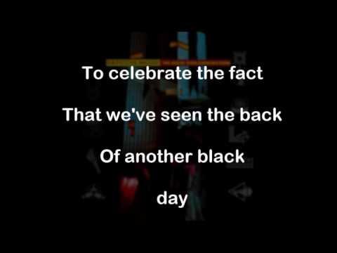 Depeche Mode  - Black Celebration (karaoke - instrumental +lyrics)