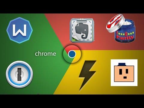 Мои расширения в Google Chrome и Safari + VPN