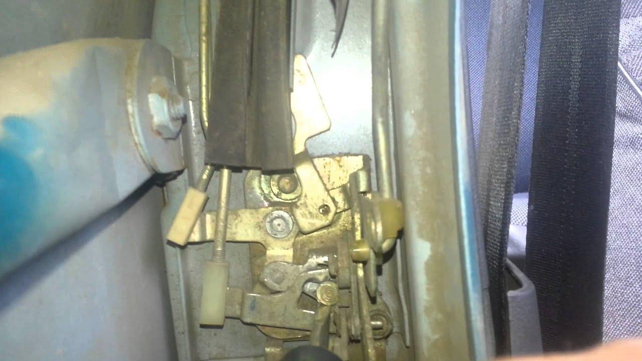 Фото №7 - механизм открывания двери ВАЗ 2110