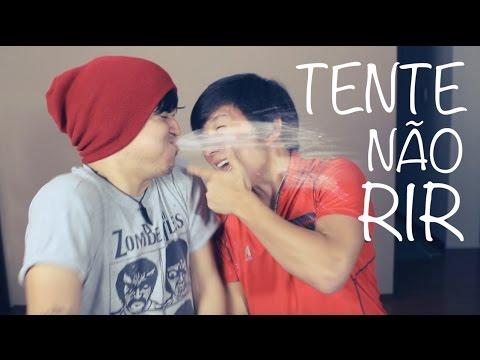 DESAFIO TENTE NÃO RIR (ft. Pyong)