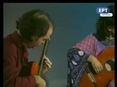 Bach: Gavotte I&II (English Suite No.3) - Evangelos&Liza (Evangelos Assimakopoulos - Liza Zoe)