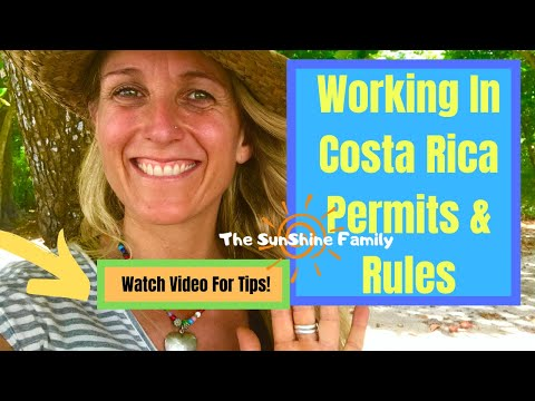 How Can I Work In Costa Rica Rules