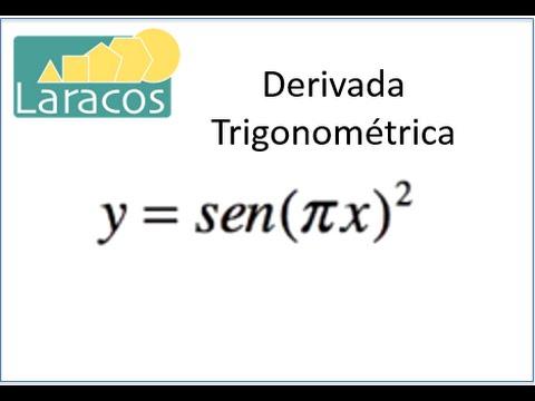 Derivada Trigonométrica: Y=sen(pix)^2