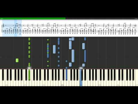 Maroon 5 - Won't go home without you [Piano Tutorial] Synthesia