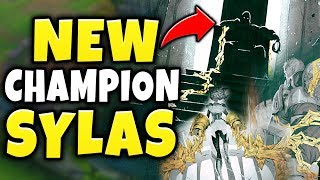 NEW CHAMPION SYLAS STEALS ENEMY SPELLS?!? DEMACIAN CHAMPION TEASER REVEALED! - League of Legends