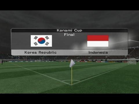FINAL : Korea Republic vs Indonesia - KONAMI Cup   Winning Eleven 9