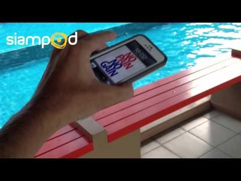 รีวิวเคสกันน้ำ LifeProof for iPhone 5 - Drop Test (2/2)