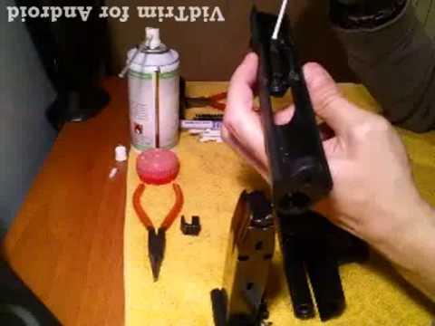 Walther p99 1°part (desarme,limpieza y engrasar )