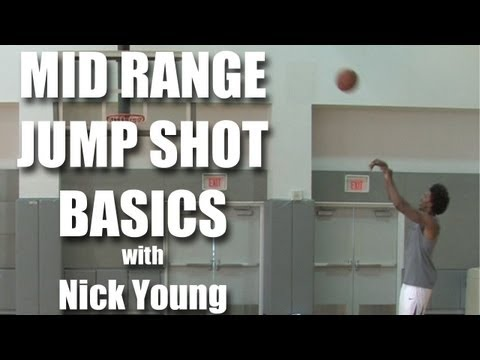 Basketball mid-range jump shot with Nick Young