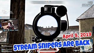 Shroud Plays PUBG Again w/Just9n, Lurn & Chun April 8, 2019