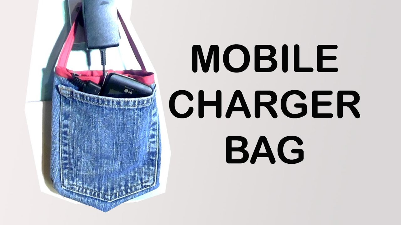 Recycled Jeans Mobile Charger