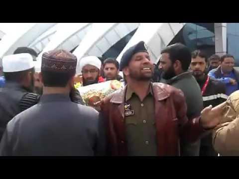 Ab Rashid Dawoodi At Airpot Srg