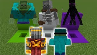 DANGEROUS DON'T GO INSIDE THE WRONG HOLE!! SURVIVAL OF THE MUTANT CREATURES!! Minecraft Mods