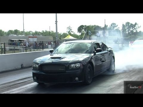 9 second Charger SRT 426 Hemi w/Nitrous vs Supercharged Charger SRT 6.4 Liter RoadTest®