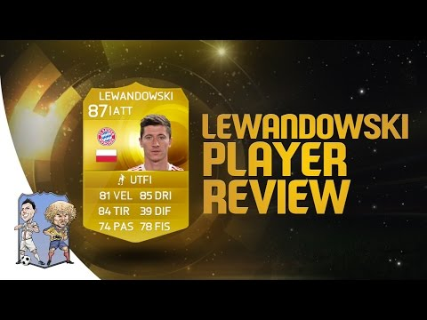 FIFA 15 | Robert Lewandowski 87 Player Review & Statistiche in Game