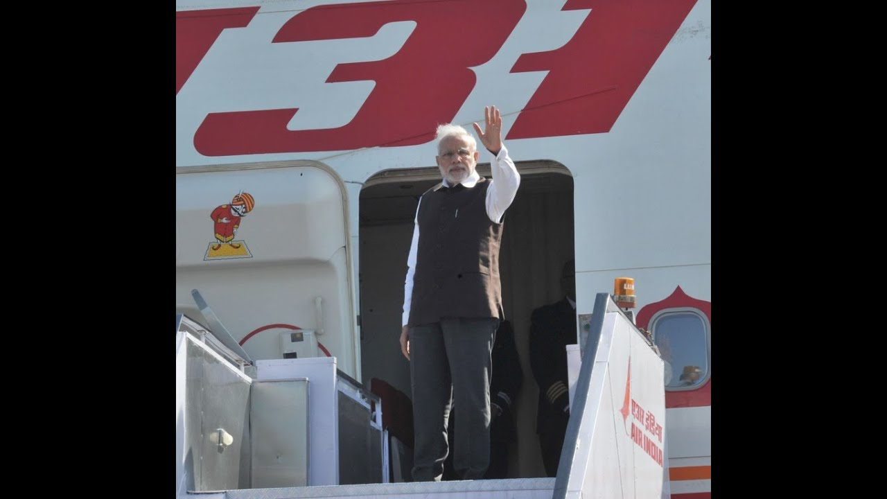 PM Modi leaves for France, Canada, and Germany - YouTube