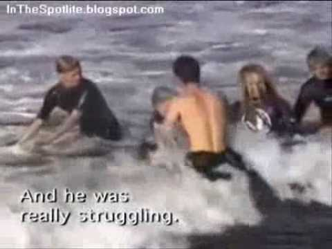 Surfing Shark Attack With Two Great White Sharks 4 5