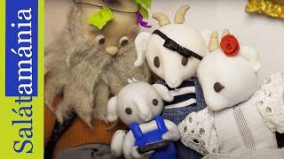 Kiskalász zenekar - Salátamánia gyurma animáció