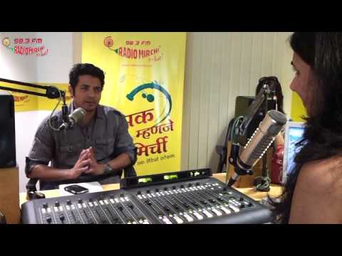 Swapnil Bandodkar in Radio Mirchi Studios - Part 1!