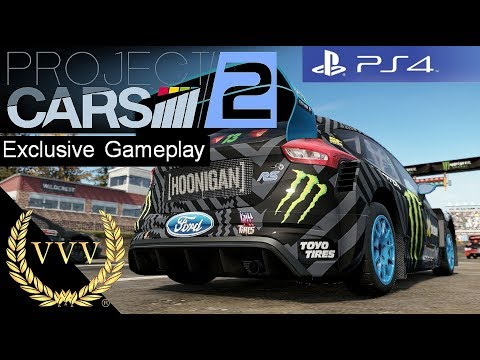 Project Cars 2 PS4 Development Gameplay