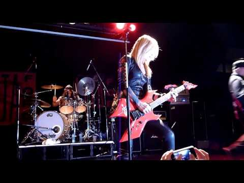 Hungry - Lita Ford Live @ The Factory, Sydney, Australia 25/5/13