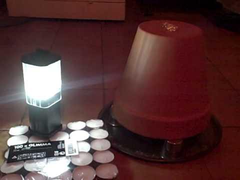 Flowerpot Candle Heater Hoax ?