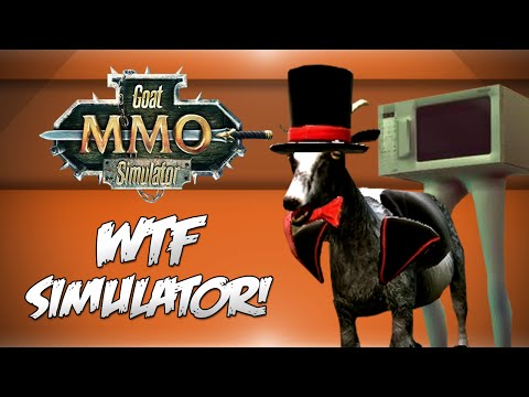 Goat MMO Simulator! - WTF IS THIS GAME?! (Funny Moments)