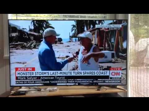 CNN report from La Manzanilla after Hurricane Patricia