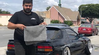BLACK RX7 REBUILD BEFORE CROSS COUNTRY TRIP