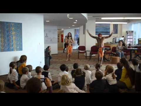 Australian Aboriginal Dance_The Dreaming Exhibition_SkyTower Building