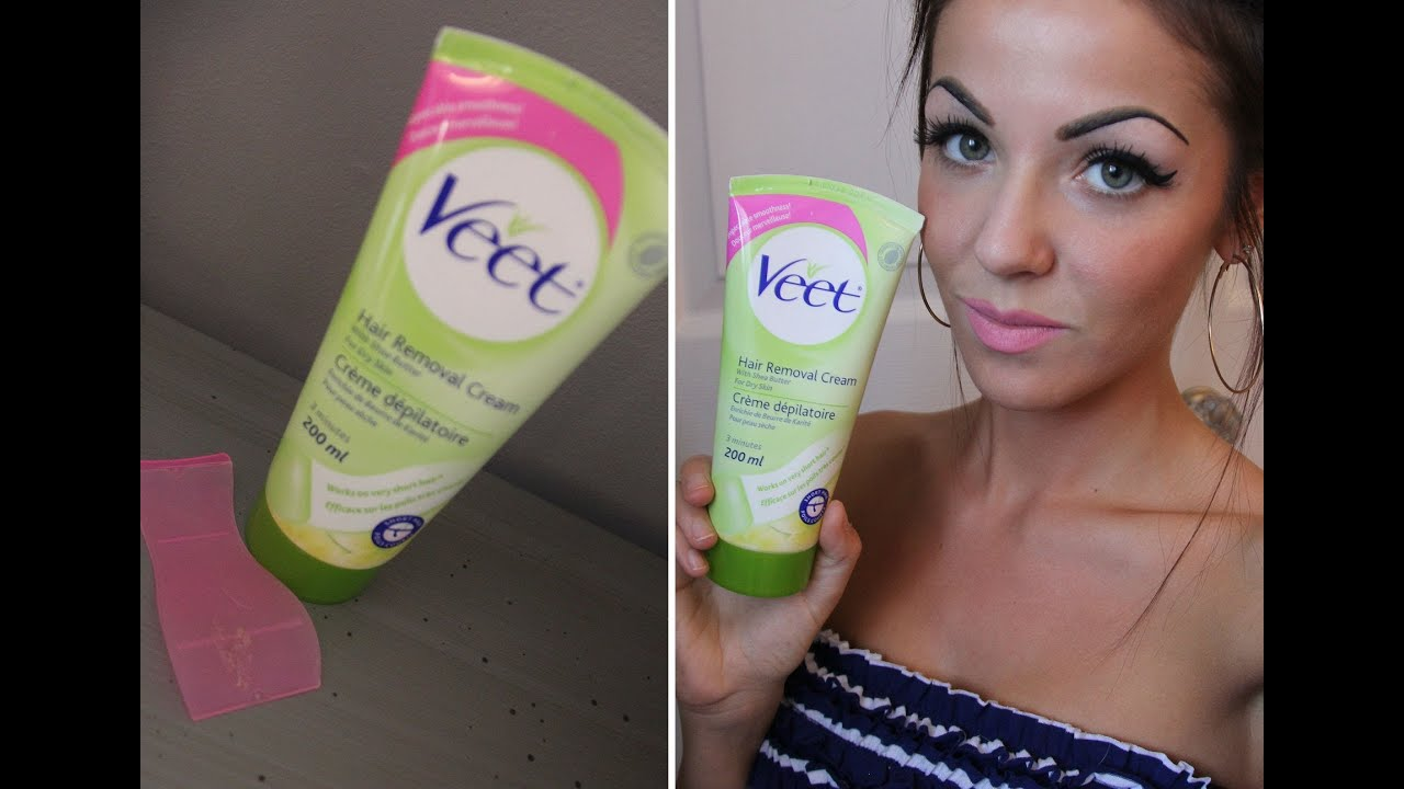 Review Veet Hair Removal Cream With Demo Youtube