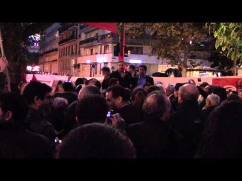 Rassemblement Ambassade de Tunisie à Paris - Ennahdha dégage !  Partie 3/5