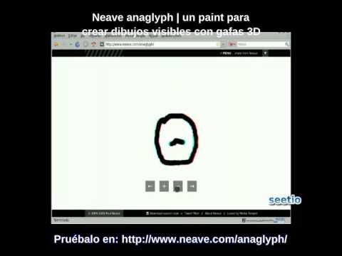 Neave anaglyph | crea dibujos visibles con gafas 3D Video