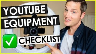 YouTube Equipment List for Making Videos