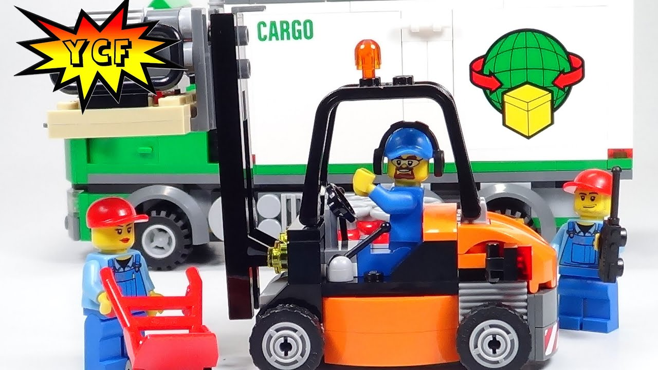 LEGO City 60020 Cargo Truck Toy Building Set  amazoncom
