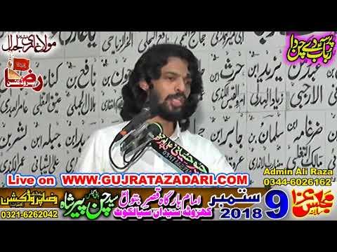 Zakir Kamran Abbas BA | 09 Sep 2018 | Kharota Syedan Sialkot