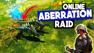 First ONLINE Aberration RAID + COUNTER RAIDERS!  - ARK: Survival Evolved DarkArk PvP Ep 4