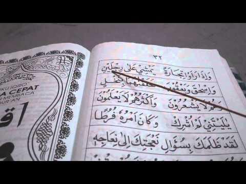 Membaca IQRA Buku 4 (Mukasurat 30-32)